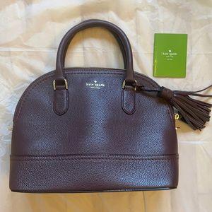 Purple Kate Spade leather purse NWOT